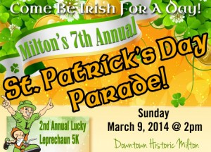 7th Annual St. Patrick's Day Parade and Lucky Leprechaun 5k