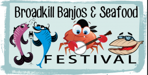 Broadkill Banjos & Seafood Festival - October 17, 2015, noon until 6pm in Memorial Park. Click for more details.