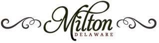 The town of Milton, Delaware